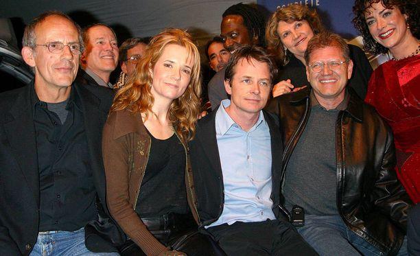 Leffojen tähdet kokoontuivat yhteen vuonna 2002 juhlistamaan trilogian päätymistä DVD-levylle.