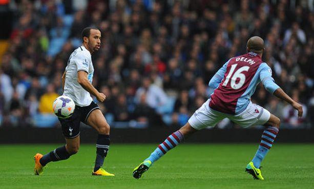 Andros Townsend upotti Aston Villan voittomaalillaan.