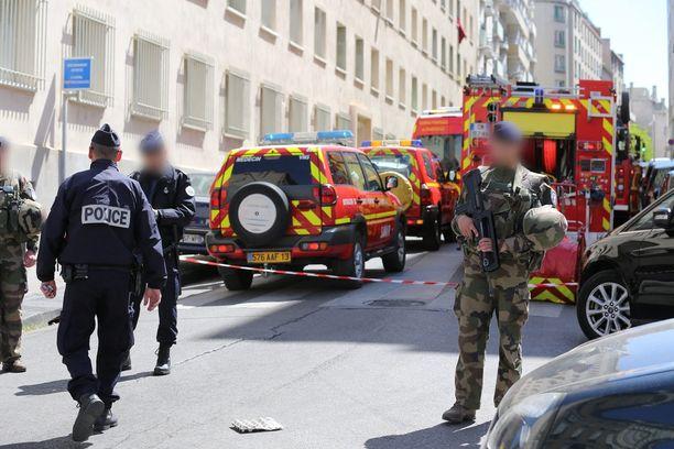 Epäillyt otettiin kiinni Marseillessa Etelä-Ranskassa.