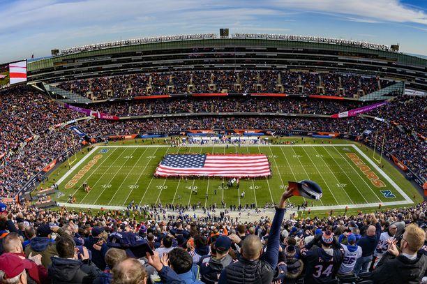 Chicago Bears pelaa edelleen kuuluisalla Soldier Fieldillä.
