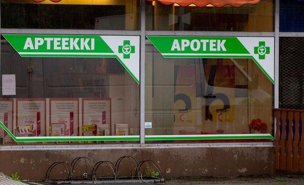 Apteekkaria syytetään perusteettomien lääkekorvausten hakemisesta. Kuvituskuva.