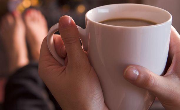 Muutama kuppi kahvia päivässä tekee hyvää.