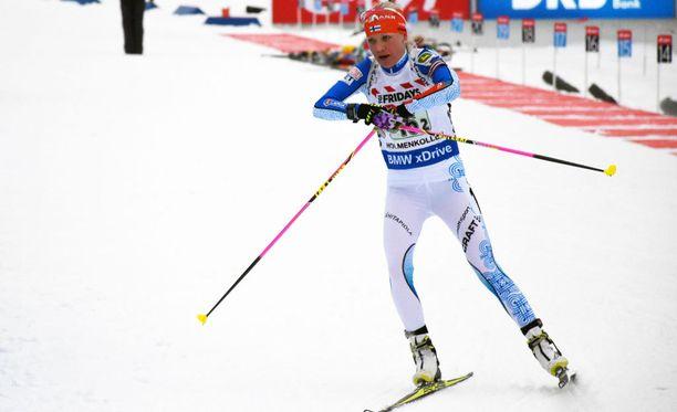 Kaisa Mäkäräinen ensimmäinen henkilökohtainen MM-startti on lauantain 7,5 kilometrin pikakisa.