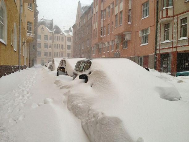 Aiempina vuosina El Niño on tuonut Suomeen asti pitkiä pakkasjaksoja ja runsaasti lunta jopa Helsinkiin.
