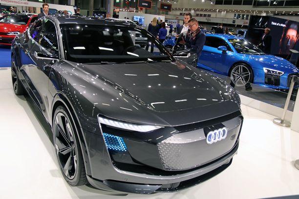 Audi Elaine on autonomisen ajon 4-tason auto, vielä tosin ns. konseptina.