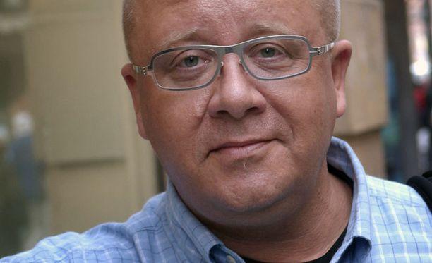 Juha Föhr on TV:stäkin tuttu meteorologi.