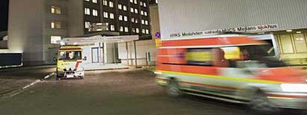 Meilahden sairaala Helsingissä.