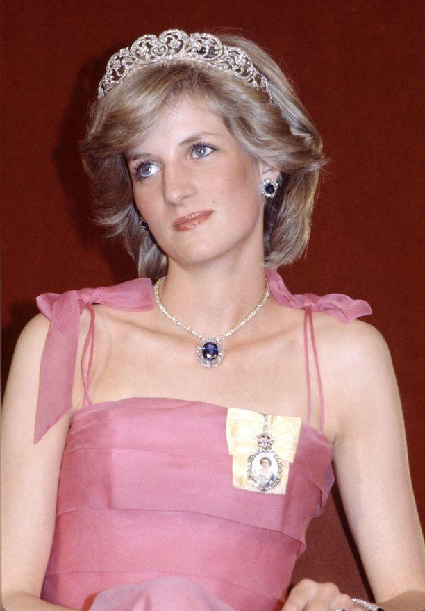 Prinsessa Diana oli rakastettu hovin jäsen.