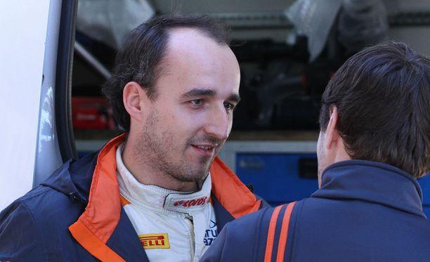 Robert Kubica ajoi taas F1-autoa.