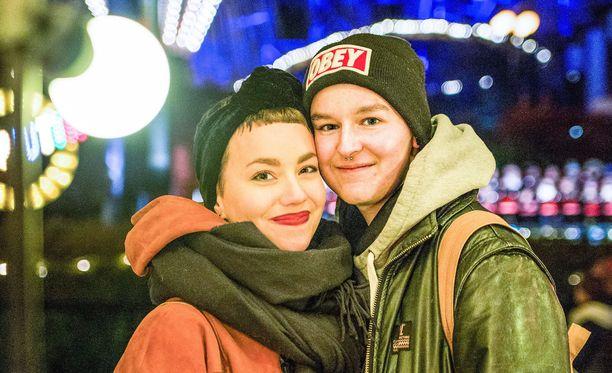 Olivia ja Emil haaveilevat omasta lapsesta.