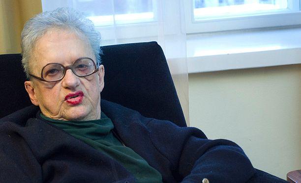 Outi Nyytäjä teki monipuolisen uran muun muassa dramaturgina ja kirjailijana.