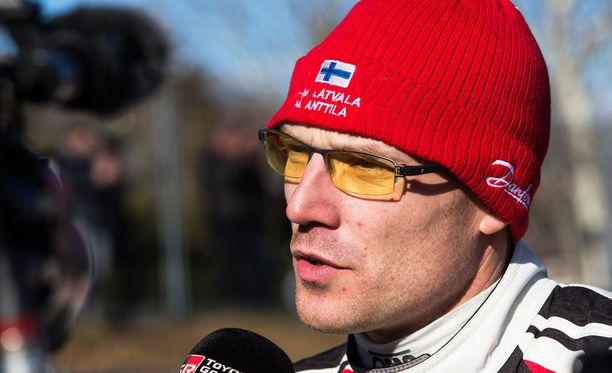 Jari-Matti Latvala tuli Monte Carlossa kolmanneksi.