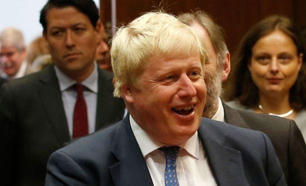 Boris Johnson sai osakseen vain pientä piikittelyä.