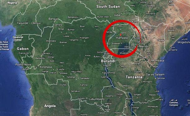 Suomalainen liikemies kuoli Ugandan pääkaupungissa Kampalassa.