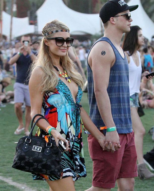 Paris Hilton ja River Viiperi.