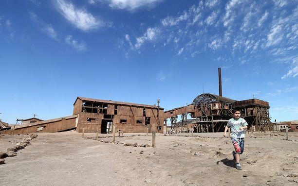 Humberstonen entinen kaivoskaupunki on nykyään nähtävyys.