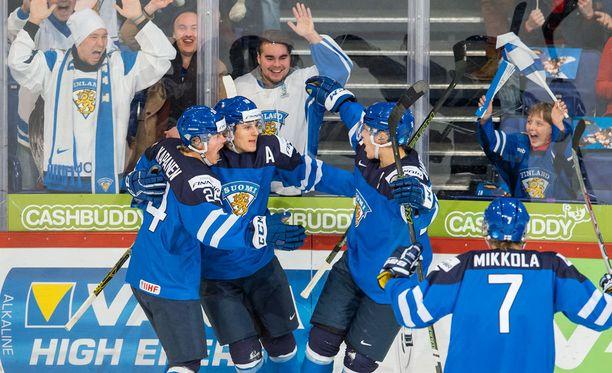 Suomi pelaa MM-finaalissa.