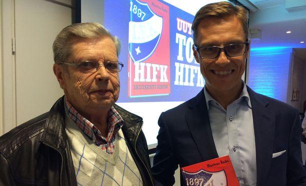 HIFK:lla on ollut iso merkitys Göran ja Alexander Stubbin elämässä.