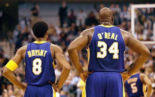 Kobe Bryantia muistellaan Lakersin kotiareenalla – Michael Jordan itki vuolaasti, Shaquille O'Neal sai surevan yleisön repeämään nauruun