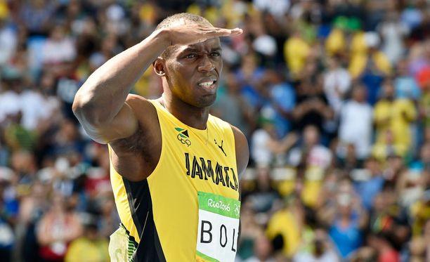 Usain Bolt tähyää 200 metrin kultaan ja maailmanennätykseen.