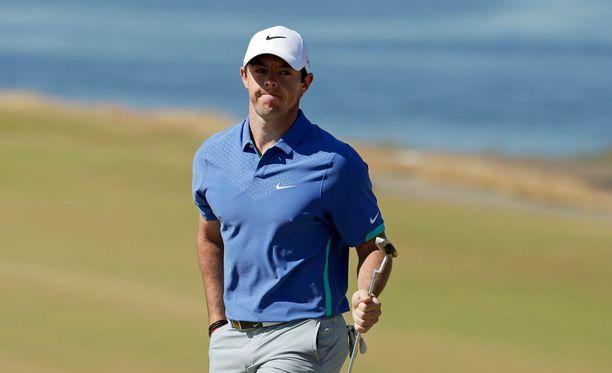 Rory McIlroy ei pysty osallistumaan British Openiin.