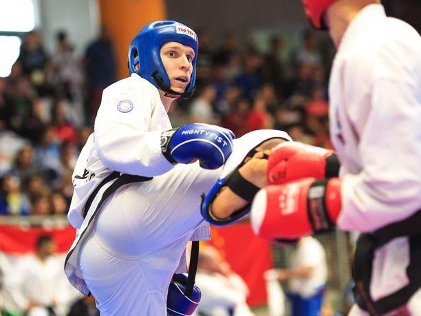 Antti Rintanen nappasi MM-kultaa Saksassa.