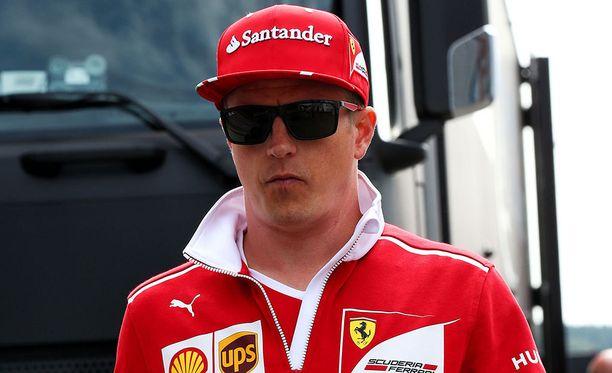 Kimi Räikkönen osaa aistia menopeliään häkellyttävän tarkasti.