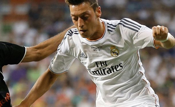 Mesut Özil on edustanut Real Madridia 2010 kesästä lähtien.