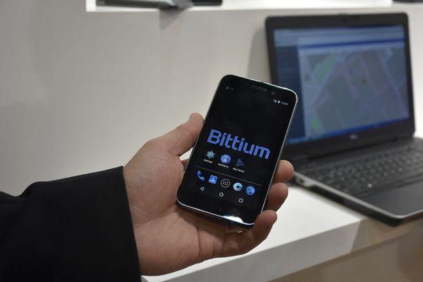 Bittiumin kehittämä tietoturvallinen Tough Mobile on ainut Suomessa valmistettava älypuhelin.