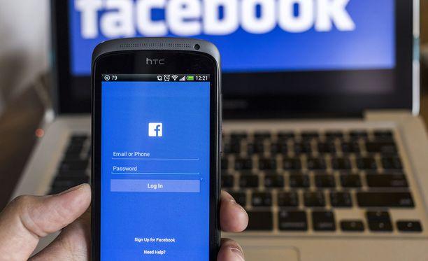 Facebookin algoritmit eivät pitäneet itsenäisyysjulistuksesta. Kuvituskuva.