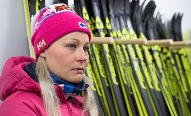 Anne Kyllösellä on vielä matkaa huippukuntoon.