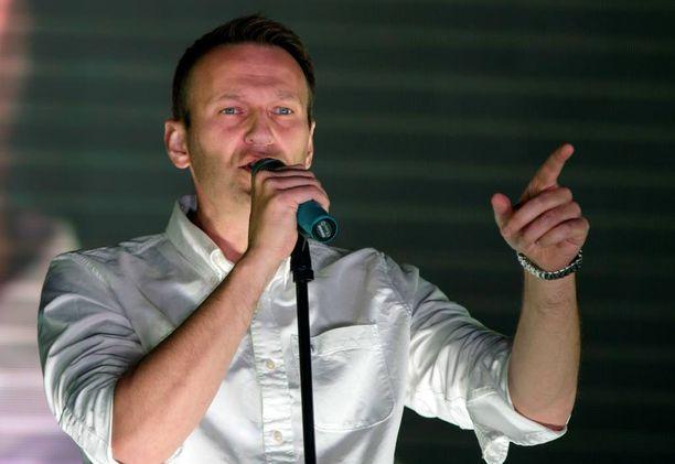 Aleksei Navalnyi on yksi harvoista Venäjällä jäljellä olevista oppositioaktivisteista.