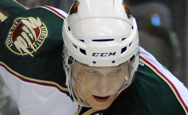 Minnesota Wild on voittanut vain yhden ottelun kuluvalla kaudella. Kuvassa Mikko Koivu.