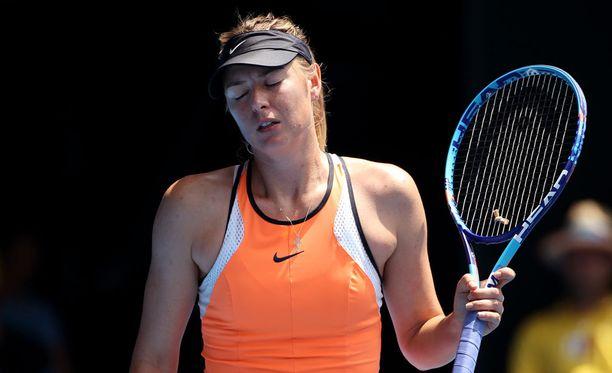 Maria Sharapova sai pitkän pannan dopingrikkeestään.