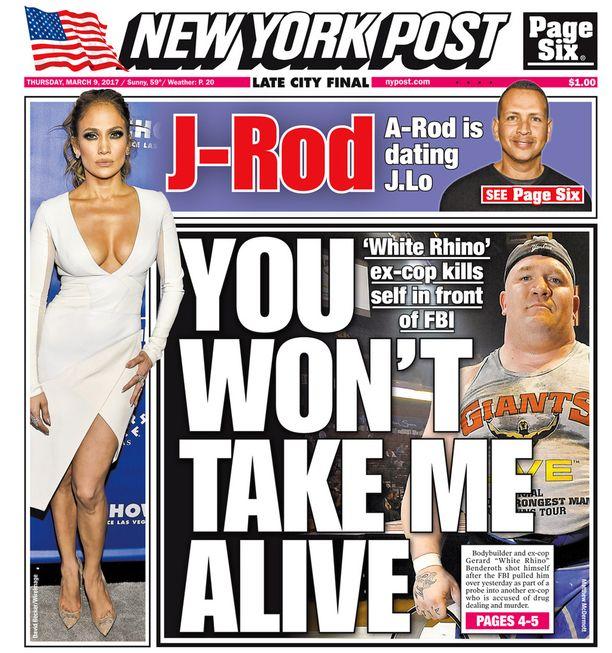 Muun muassa New York Post uutisoi tähtiparin rakkaudesta.