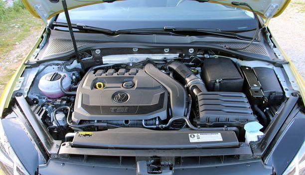 Uusi 1,5-litrainen moottori nähdään myös Bluemotion-versiona.