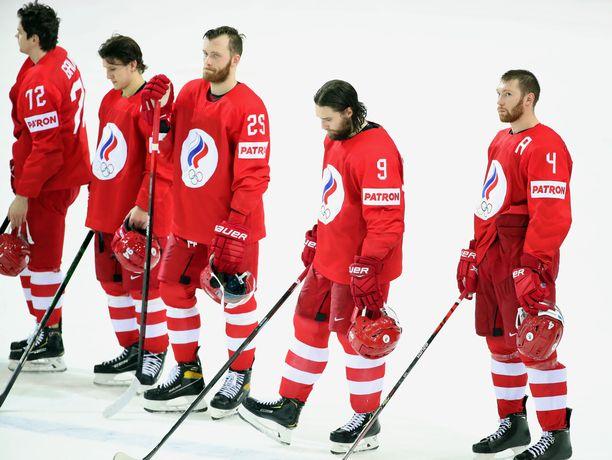 Venäjä konttasi jälleen MM-kisoissa.