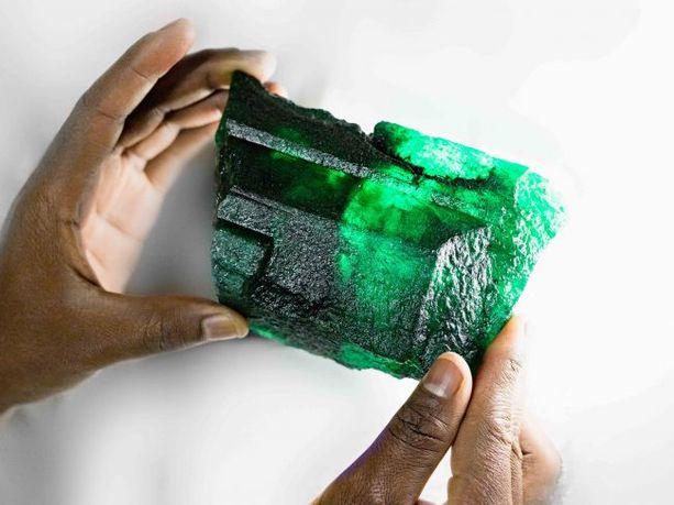 Inkalamu löytyi Sambiasta Kagemista, joka on maailman suurin smaragdikaivos.
