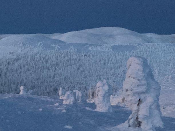 Kesänkitunturilla on tapahtunut perjantaina lumivyöry.