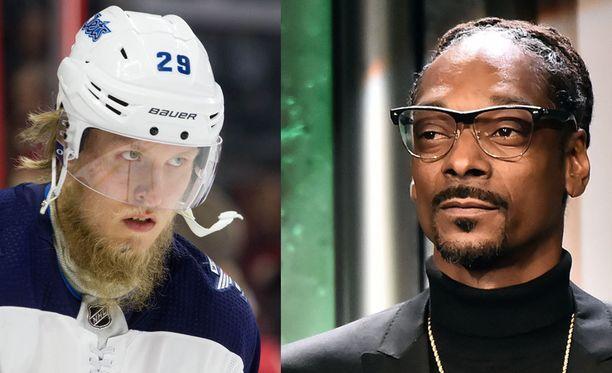 Patrik Laine sai hehkutusta itseltään Snoop Doggilta.