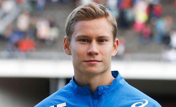 Rasmus Mägin mukaan Oskari Möröllä (kuvassa) riittää potentiaalia.