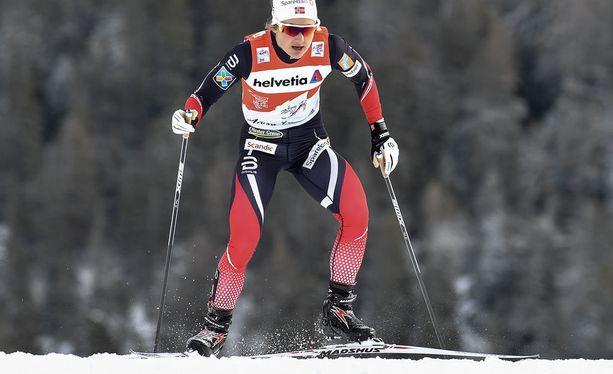 Ingvild Flugstad Östberg hiihtää varmasti Tour de Skillä vielä kaksi seuraavaa etappia.