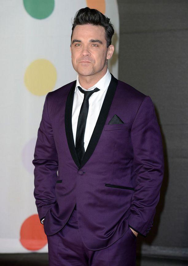 Robbie Williams tuli isäksi reilu vuosi sitten.