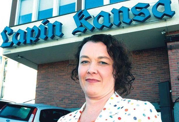 HÄMMENTYNYT Johanna Korhonen kokee joutuneensa loukatuksi, häväistyksi ja nöyryytetyksi Alma Median taholta. markku leskinen