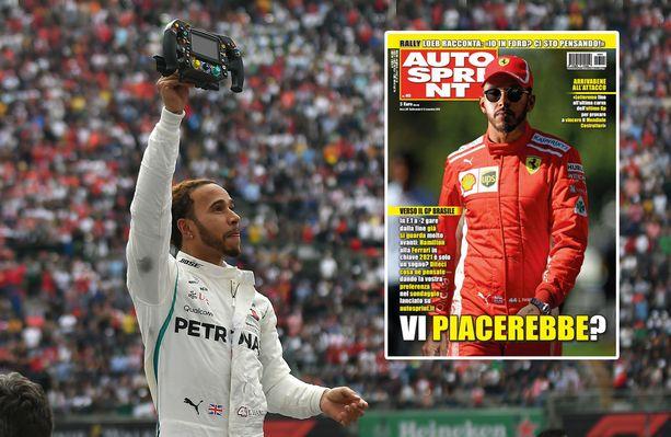 Perinteikkään Autosprintin tuore kansi saattoi saada jokusen F1-fanin tursauttamaan aamukahvit nenästään.
