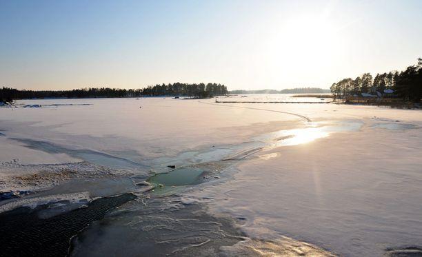 Jäälle ei kannata mennä enää missään päin Suomea.