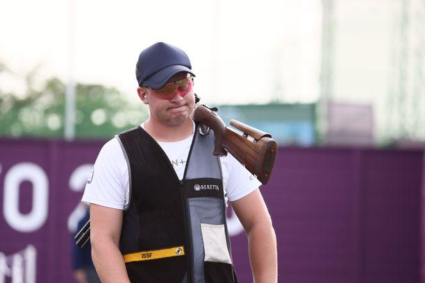 Eetu Kallioinen jäi olympiafinaalissa neljänneksi. Ilme oli pettynyt.