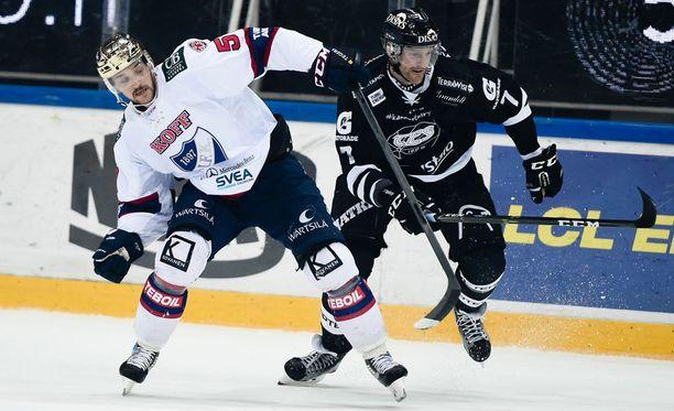 Juhamatti Aaltonen ja Henrik Tallinder taistelevat taas tänään Turussa.