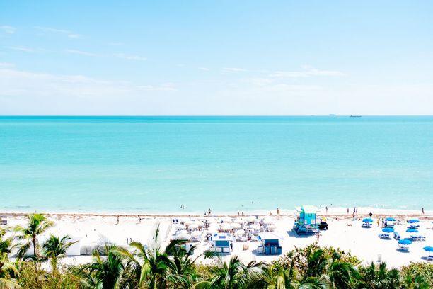 Miami Beach on rantojen parhaimmistoa.