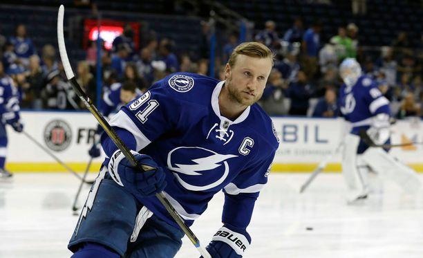 Steven Stamkosin laukaisuprosentti on NHL:n huippumaalintekijöiden eliittiä.